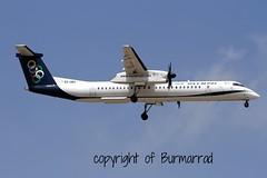 SX-OBA LMML 06-06-2015 (Burmarrad (Mark) Camenzuli) Tags: cn aircraft air dash airline olympic registration bombardier 4267 8q402 lmml sxoba 06062015