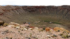 Meteor Crater in Northern Arizona (lhboudreau) Tags: arizona crater northernarizona touristattraction meteor meteorcrater barringer 2015 diablocanyon impactcrater privatelyowned barringerfamily barringercratercompany