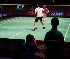Rajiv Ouseph vs Lee Chong Wei (KW0326) Tags: county new york england college island gold us suffolk community long open grand prix lee malaysia ms brentwood wei chong badminton rajiv qf bwf 2015 ouseph usopen2015yonexusopen