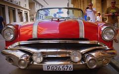 vintage chromium (mujepa) Tags: auto red car vintage rouge classiccar automobile havana cuba tacot lahavane