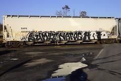 Sumet Naroe Arid (BombTrains) Tags: road railroad art train bench graffiti paint tag graf rail spray graff pike arid freight fr8 sumet sfb benching banek shpx naroe 450859