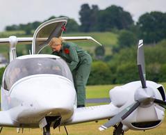 Carol Vordeman at Cosford (safc1965) Tags: airshow carol raf cosford vorderman