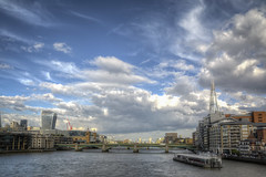 London Bridge and the Shard-8 (FitzinCC) Tags: londonhdr