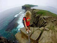 Travel (jennyzinovyeva) Tags: sea nature water rock island russia wave fromabove islandrusskiy