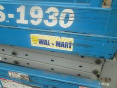 Old Walmart Logo (Random Retail) Tags: retail logo store bradford walmart pa 2015