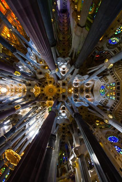 Up at the Sagrada Familia