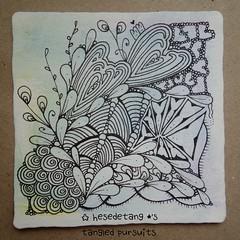 More #artforhayden (hesedetang *) Tags: tangle tangles zentangle zentangles