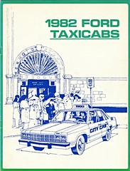 1982 Ford Taxicabs (aldenjewell) Tags: ford 1982 s brochure ltd fairmont futura taxicabs