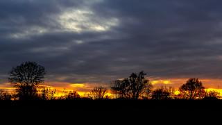 A glorious sunset...