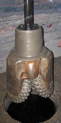 Tri-cone rotary driling bit 2 (James St. John) Tags: tricone drilling bit iron mine mining mines minnesota