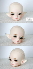 Face up Luts KDF Summer Event 2013 (Mikiyochii) Tags: bjd luts kdf summer event head repaint abjd doll kiddelf faceup elf