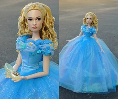 Customized 17in Cinderella Doll (They Call Me Obsessed) Tags: cinderella 2015 movie disney doll dolls limited edition store new barbie princess princesses opal lilly james