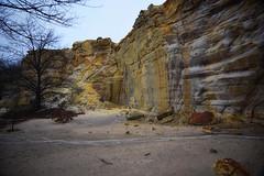 Portion of the Rock Formation - Buaffalo State Park (kendoman26) Tags: buffalostatepark sandstone cliffwall niksoftware nikcoloreffex4pro travelillinois enjoyillinois nikon nikond3300 tokinaatx1228prodx tokina tokina1228