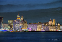 Waterfront (Assorted photos by Cris Ebbs) Tags: liverpool rivermersey liverbuilding threegraces pierhead