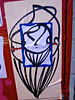 Zamar Sticker, San Francisco, CA (Robby Virus) Tags: sanfrancisco california sf ca zamar sticker slap street art drawing squid octopus