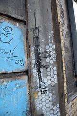 DSC_7571 Shoreditch London Street Art Endless Machine Gun (photographer695) Tags: shoreditch london street art endless machine gun