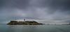 Alcatraz and the Bay Bridge (the CAMera of ian CAMpbell; simple) Tags: san francisco sf usa america alactraz alcatraz bay bridge water sea