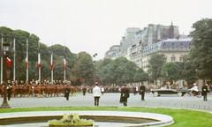 Bastille Day Paris 14jul65 President De Gaulle & Citroen Chapron (shipcard) Tags: paris bastilleday citroen chapron degaulle 14july 1965 france