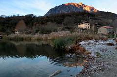 Winter on the lake (annalisabianchetti) Tags: winter lake lago inverno paesaggio landscape mountains montagne vallecamonica water ice