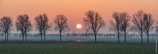 Sunset @ Overlangel (NL)