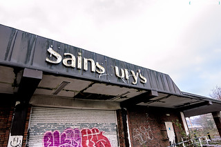 Abandoned Sainsurys supermarket, Newport\