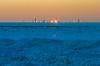 El Dorado (Tom Gill.) Tags: lake lakemichigan greatlakes frozen ice winter shelfice chicago skyline sunset
