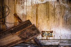 MS6856 (Jae at Wits End) Tags: number farm barn decay places abandoned agrarian architecture building country decayed digit discarded forgotten forsaken homestead neglected numerals old outbuilding outdoor rejected rural rustic solitary storage structure symbol wood