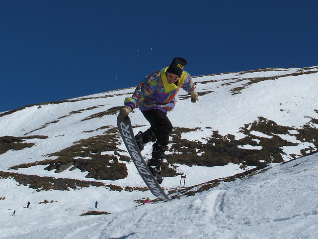 Mike Gallagher from Cheapskate, Wanaka at Treble Cone Closing Day (28.9.2014)