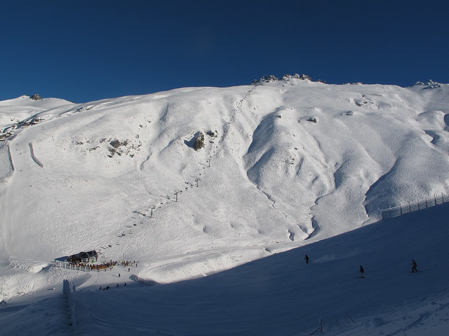 Saddle Basin - Treble Cone, Wanaka NZ (4 August 2014)