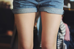 Jeans (katerin palna) Tags: skinny legs girly daily jeans denim shorts jeansshorts canoneos600d