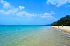 The infinite beach