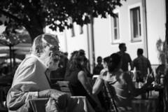 Have a break! (Schlumpf1175) Tags: bw white black sony mann pause alter 1670 torsten carlzeiss schwarzweis schlumpf1175 sebelka