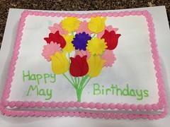 Flower Cake by Corrin, Linn County, IA, www.birthdaycakes4free.com