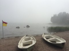 Sea fret (blue shed art) Tags: baltic photostream