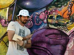 A Portrait of Cern (Eddie C3) Tags: newyorkcity streetart art graffiti cern graffitiartist astoriaqueens cernesto wellingcourt wellingcourtmuralproject 6thannualwellingcourtmuralproject