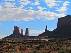 Monument Valley #6 (jimsawthat) Tags: sky clouds rural utah erosion highdesert geology monumentvalley buttes