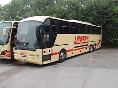 DSCN1988 Andrew's, Tideswell J5 AOT (Skillsbus) Tags: buses coaches andrews tideswell derbyshire peakdistrict england neoplan euroliner j5aot yn56bgv weardale