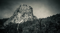 Moro Rock I (J*Phillips) Tags: california summer blackandwhite mountains landscape outdoors nationalpark rocks backgrounds geology sierras drama sequoia