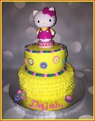 Hello Kitty cake by Elicia, Santa Cruz, Ca, www.birthdaycakes4free.com