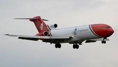 Oil Spill Response Boeing 727-2S2FAdv(RE) Super 27 G-OSRB Approach (Mark 1991) Tags: boeing 727 cosford rafcosford 727200 super27 727200adv oilspillresponse gosrb