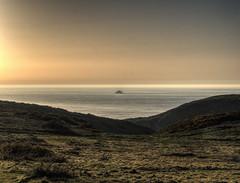one of the rocks off Alderney