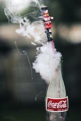 Guy's, I'm having second thoughts!!! (3rd-Rate Photography) Tags: canon toy 50mm lego florida fireworks smoke coke fourthofjuly jacksonville cocacola 365 minifig 4thofjuly independenceday minifigure bottlerocket toyphotography 5dmarkiii earlware 3rdratephotography