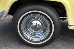 1956 Chevy 3200 truck (twm1340) Tags: chevrolet wheel truck pickup tire ironman chevy chrome 1956 3200 hubcap tyre babymoon
