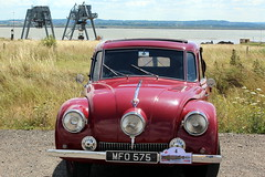 1946 Tatra 87 (Davydutchy) Tags: park uk greatbritain england bird nature thames river rally july environmental estuary flats trust register annual truk cory essex birdwatching southend engeland tatra visitorcentre thurrock thameside basildon mucking 2015 theems
