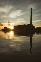 (William Self) Tags: morning summer toronto ontario sunrise shipchannel portlands 2015 thehearn sonynex6