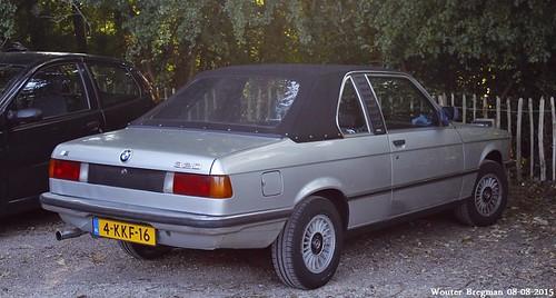 BMW E21 320 Baur TC cabriolet 1981