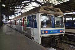 SNCF Transilien 6541 - 6542 (Will Swain) Tags: city travel paris france st train de french europe gare centre transport july rail railway trains des railways 15th français société parisian fer sncf nationale lazare transilien 2015 6541 chemins 6542