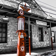 Old Texaco station near Driftwood, Texas (Diann Bayes) Tags: texaco gasstation nostalgic pump driftwood texas