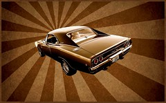 1968 Dodge Charger R/T - Summer Of Love (1968 Dodge Charger R/T | Scott Crawford) Tags: 1968 1960s 1968charger 1968dodgecharger 1968dodgechargerrt scott scottcrawford summeroflove interesting classic sepia psychedelic