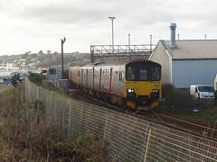 150121, 153370 & 153318 Longrock (Marky7890) Tags: gwr 150121 class150 sprinter railway train longrock penzance cornwall class153 supersprinter 153370 153318